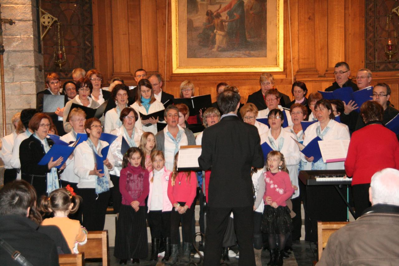 Avec la Chorale de Lallaing