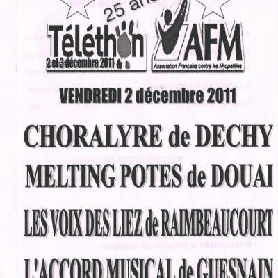 GUESNAIN Telethon 2011